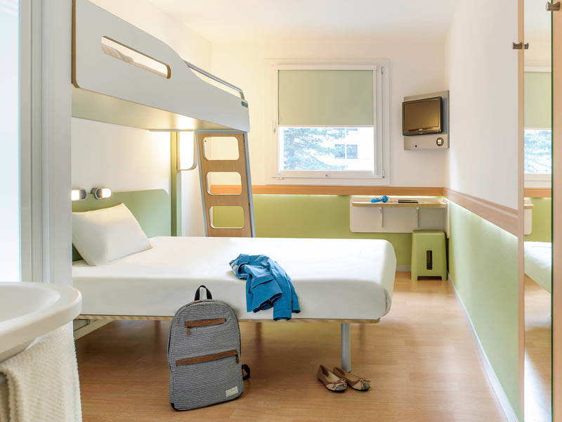 Ibis Budget Tours Nord - Chambre