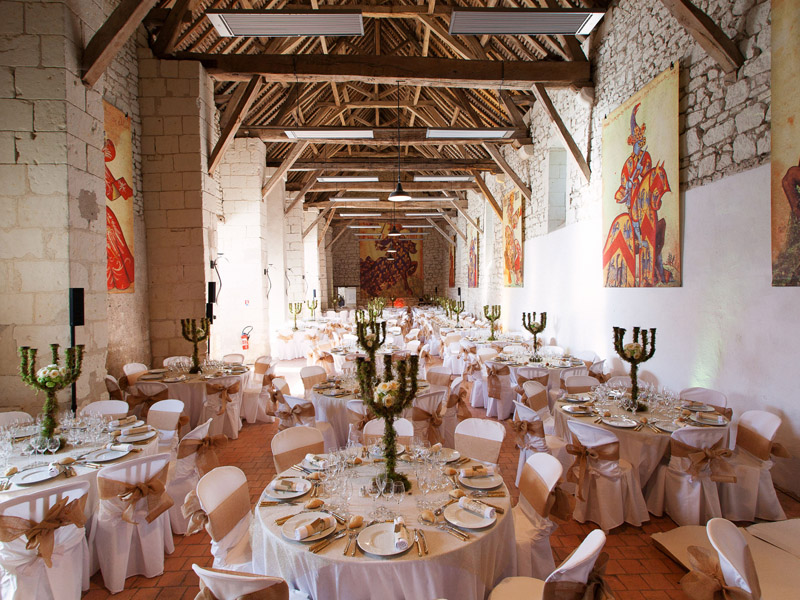 Mariage au château du Rivau